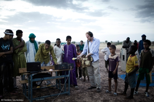 RŽéfugiŽs maliens au Burkina Faso.