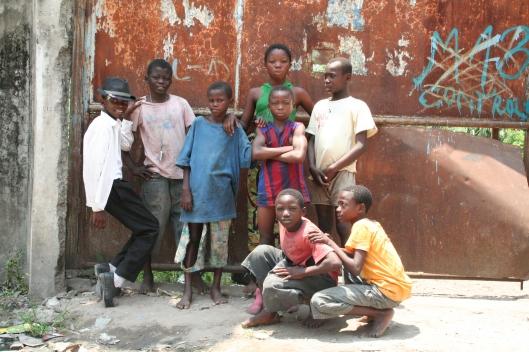 Les enfants du films Kinshasa Kids  (source: http://kinshasakids.com/)