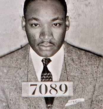Martin Luther King à la prison de Birmingham, 1962