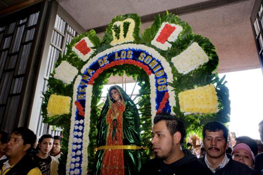 Procession de la Vierge des Sonidos