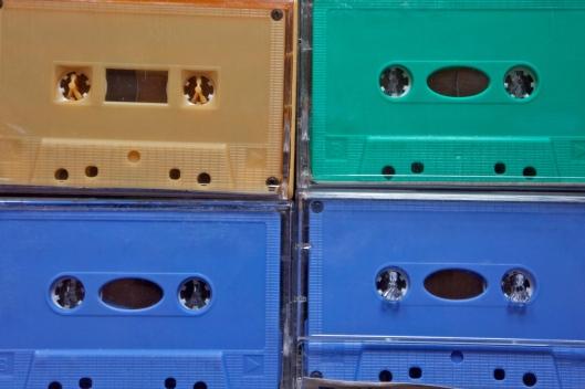 Jaquettes inexistantes des cassettes d'Agadez