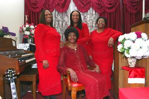 Naomi Shelton et ses Gospel Queens