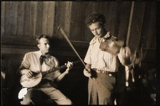 Pete Seeger et Woody Guthrie