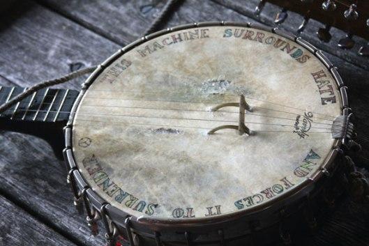 Le fameux banjo de Pete Seeger