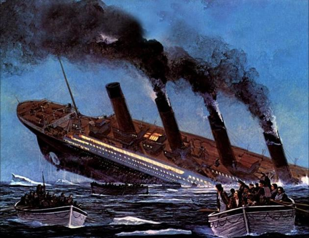 le-naufrage-du-titanic-en-peinture