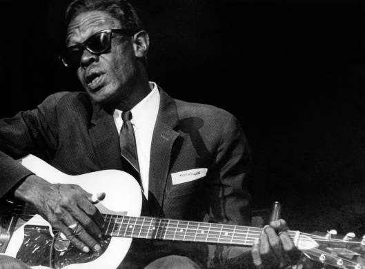 DENMARK : Photo de Lightnin' HOPKINS (Photo de Jan Persson/Redferns)