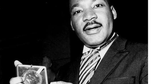 Martin Luther King Jr. et son prix Nobel de la paix reçu en 1964